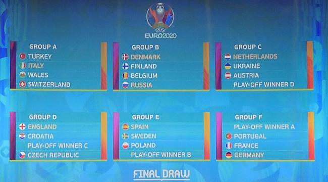 İtalya ile EURO 2020'nin açılış maçını oynayacağız