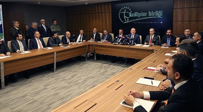 Kulüpler Birliği Vakfı'ndan UEFA'ya karşı deklarasyon