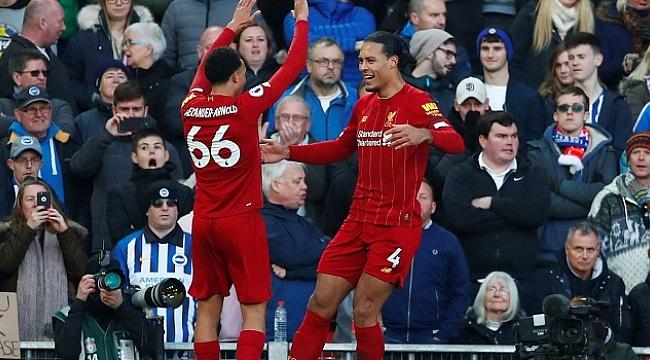 Liverpool Virgil van Dijk'in golleriyle kazandı