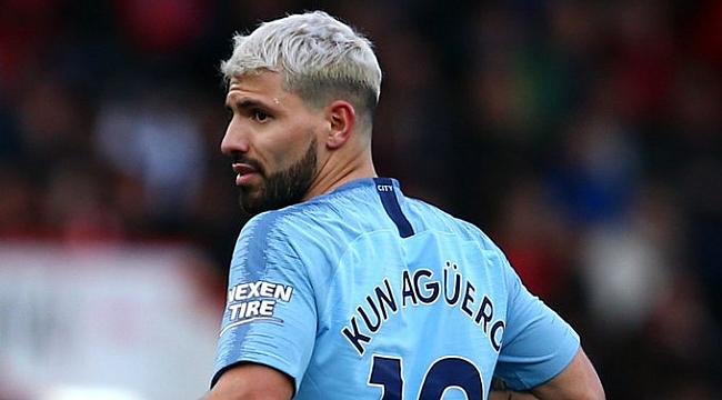Manchester City'de Agüero sakatlandı