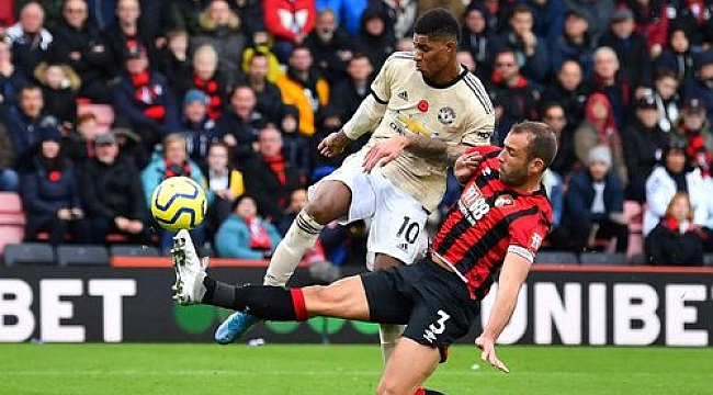 Manchester United Bournemouth'tan puan alamadı