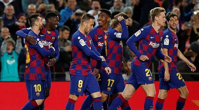 Messi hat-trick yaptı, Barcelona farka koştu