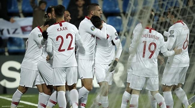 Milliler grup maçlarını Andorra'yı yenerek tamamladı