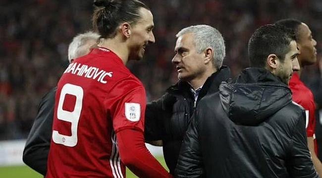 Mourinho Ibrahimovic'i istedi