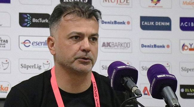 Murat Şahin: Bir puan almak kötü değildir