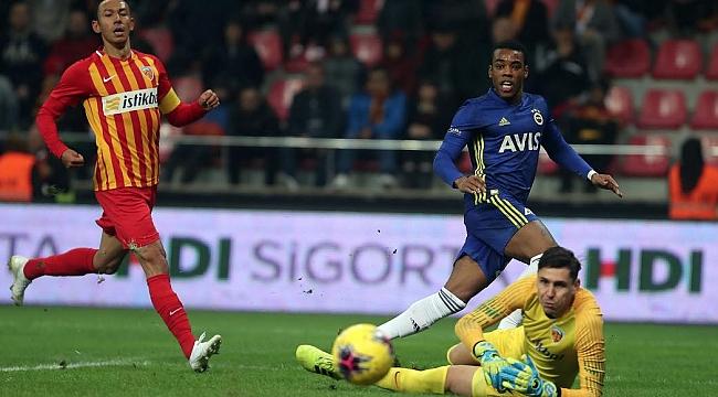 Rodrigues bu kez golleri kaçırdı