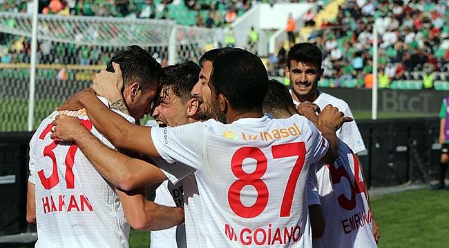 Sivasspor Denizli'den 3 puanla dönüyor