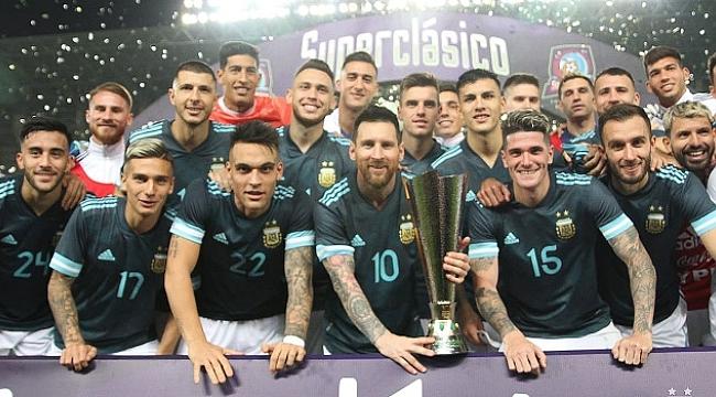 Superclasico'da Arjantin Brezilya'yı yendi