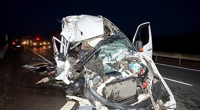 TFF'den kaza geçiren Bursaspor taraftarlarına geçmiş olsun mesajı