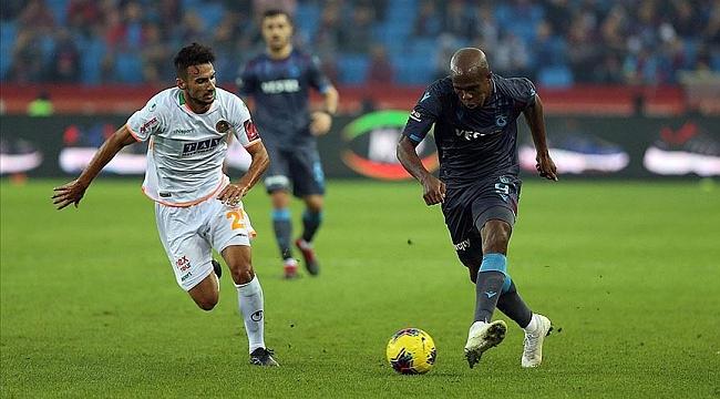 Trabzonspor'a tek gol yetti
