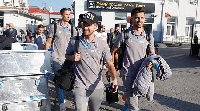 Trabzonspor Krasnodar'a gitti