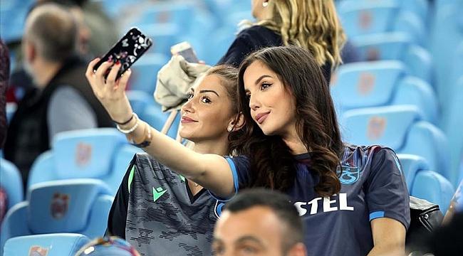 Trabzonspor tribündeki kadın taraftar oranında zirvede