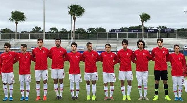 U17 Milli Takımımız Hollanda'ya 2-1 mağlup oldu