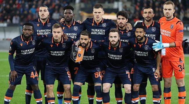 UEFA Avrupa Ligi'ne Başakşehir damgası