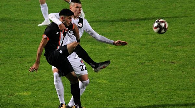 Adanaspor Fatih Karagümrük'ü devirdi