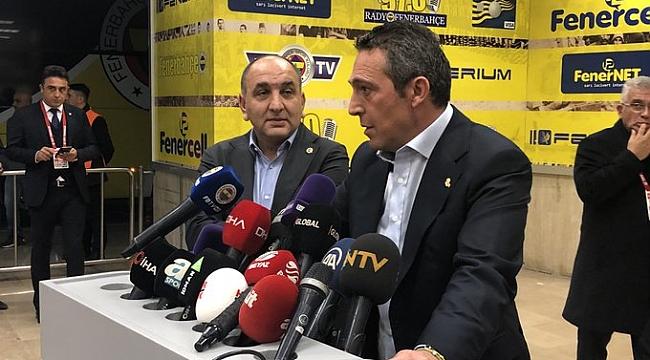 Ali Koç'tan Ersun Yanal ve kavga açıklaması