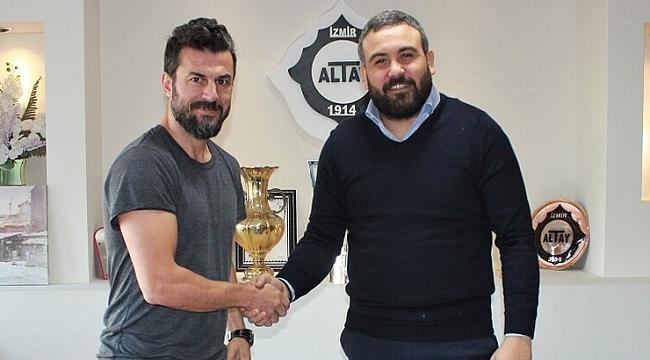 Ali Tandoğan resmen Altay'da