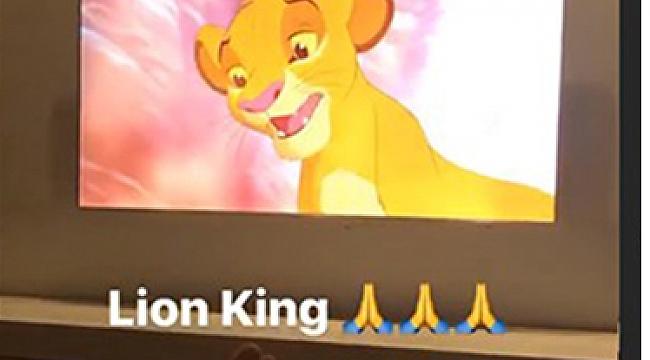 Arda Turan'dan Aslan Kral paylaşımı