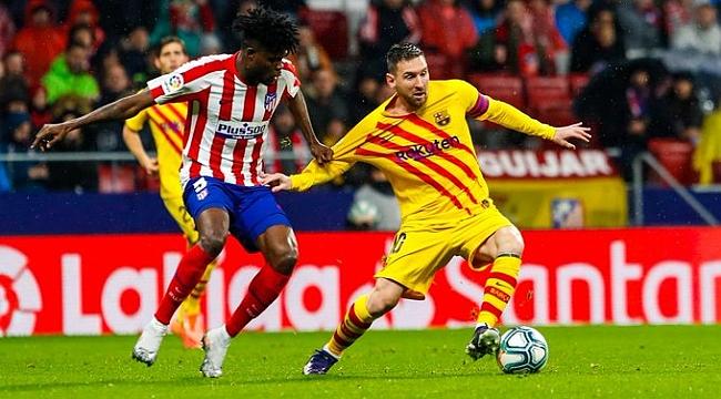 Barcelona Atletico Madrid'i Messi'yle aştı