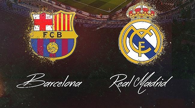 Barcelona - Real Madrid derbisi ne zaman saat kaçta hangi kanalda ?