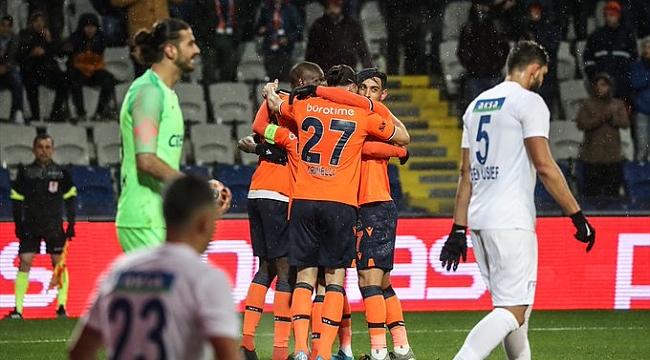 Başakşehir Kasımpaşa'ya gol yağdırdı