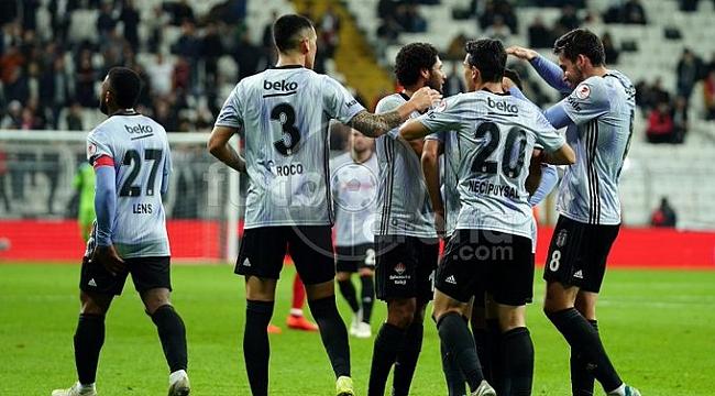 Beşiktaş 3-0'ın avantajıyla Erzincanspor karşısında