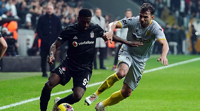 Beşiktaş da kendi sahasında Yeni Malatya'dan yara aldı