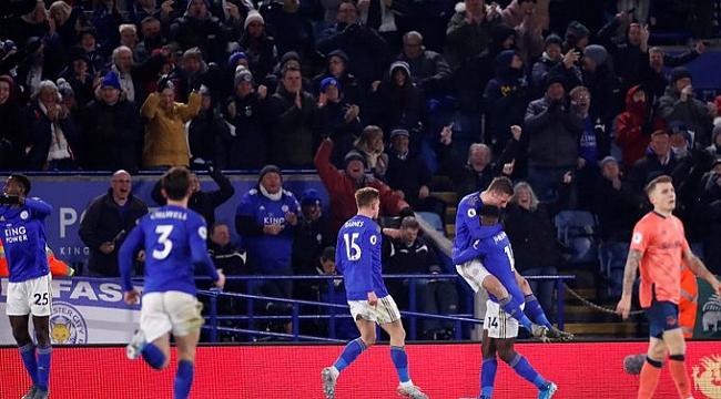 Çağlar'lı Leicester City Everton'ı uzatmalarda geçti