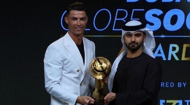 Cristiano Ronaldo'ya bir ödül daha
