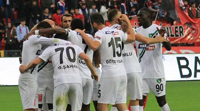 Denizlispor Gaziantep FK'yı Sacko ile geçti