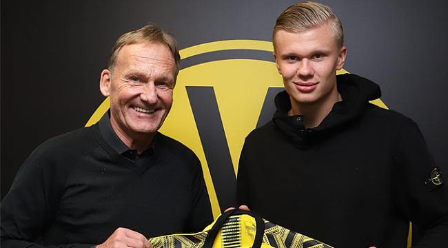 Dortmund Haaland'ı transfer etti