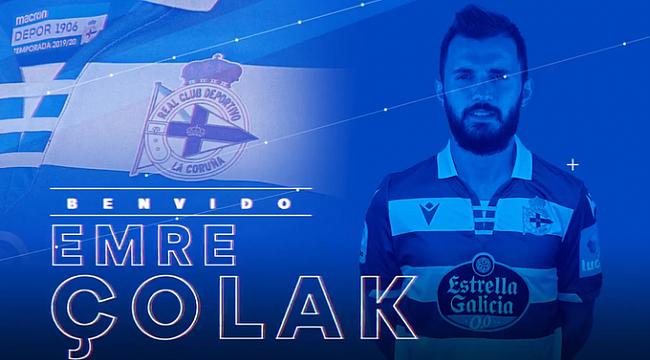 Emre Çolak resmen Deportivo'da