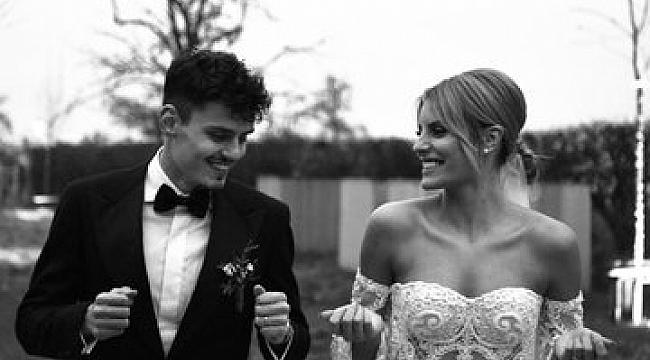 Enes Ünal evlendi