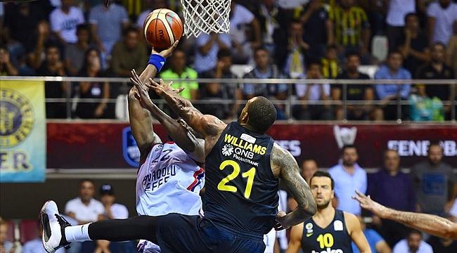 Euroleague'de Türk derbisi: Fenerbahçe Beko - Anadolu Efes
