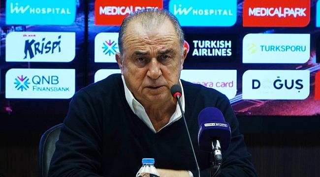 Fatih Terim'den maç sonu açıklamalar