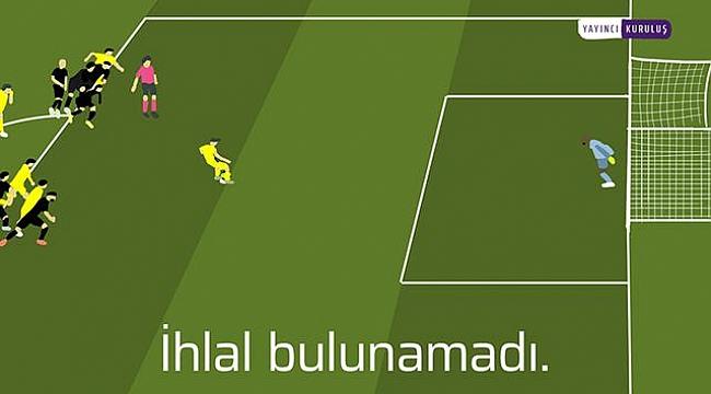 Fenerbahçe'den grafik çizimli penaltı paylaşımı