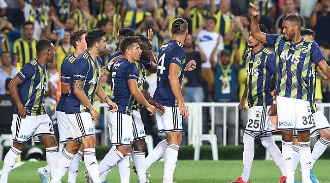 Fenerbahçe Gençlerbirliği maçını bekliyor