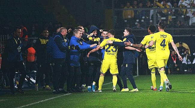 Fenerbahçe Rize'yi yendi, 2019'u galibiyetle kapattı