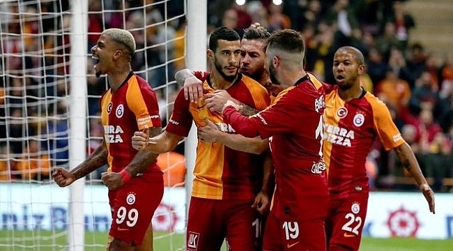 Galatasaray Alanyaspor'u penaltıyla geçti