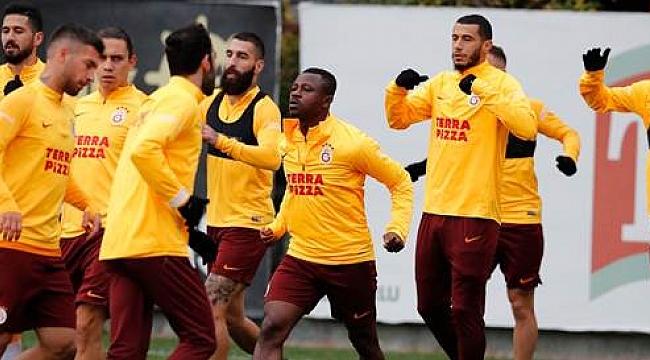 Galatasaray Antalya maçı hazırlıklarına başladı