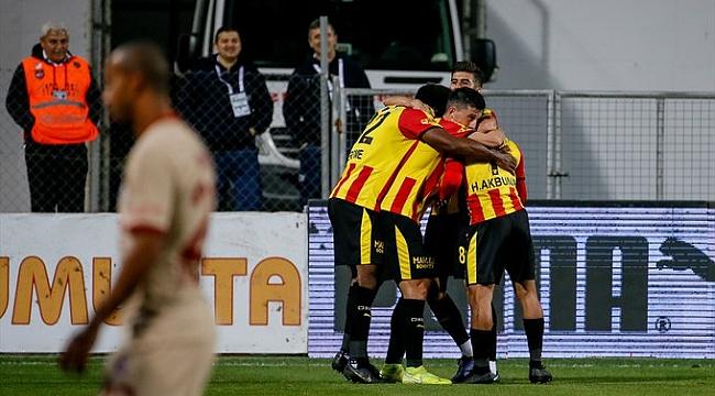 Galatasaray Göztepe'ye mağlup