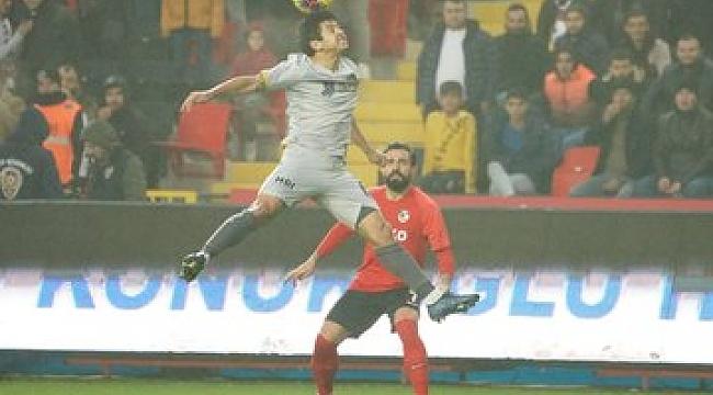 Gaziantep FK ile Yeni Malatyaspor yenişemedi