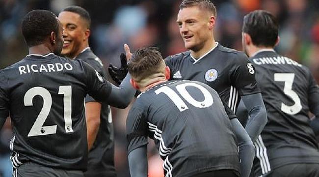 Leicester City galibiyetlerine devam ediyor