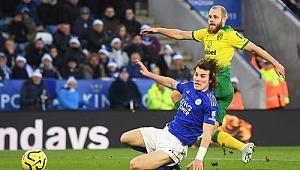 Leicester City Norwich'e takıldı