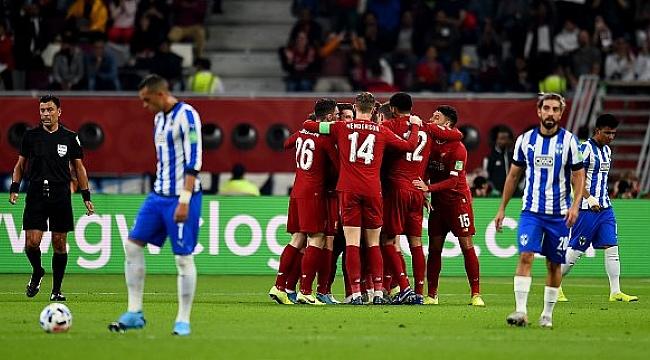 Liverpool Dünya Kulüpler Kupası'nda finale çıktı