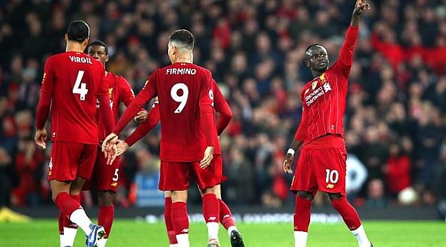 Liverpool seriyi Sadio Mane ile sürdürdü