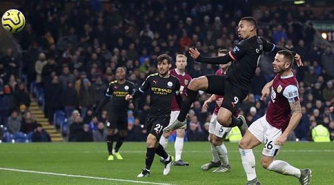 Manchester City Burnley deplasmanında 4 golle kazandı