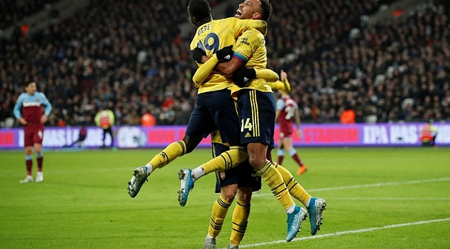 Mesut'lu Arsenal 9 maç sonra kazandı