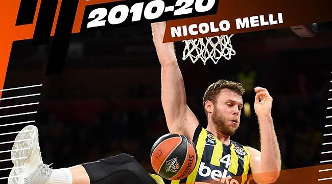 Nicolo Melli Euroleague'de Son 10 Yılın En İyileri'ne aday gösterildi