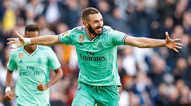 Real Madrid Espanyol'u Varane ve Benzema ile geçti
